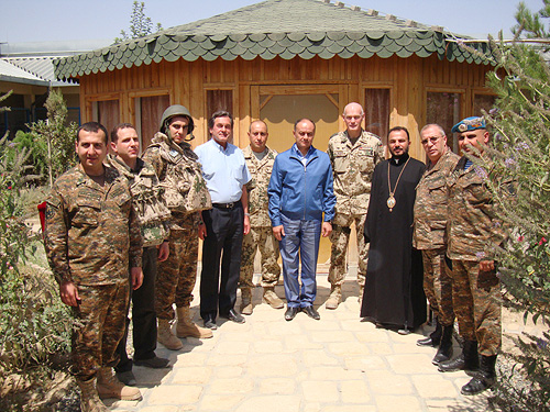 Consecration of Armenian chapel of Saint Thaddaeus in Afghanistan