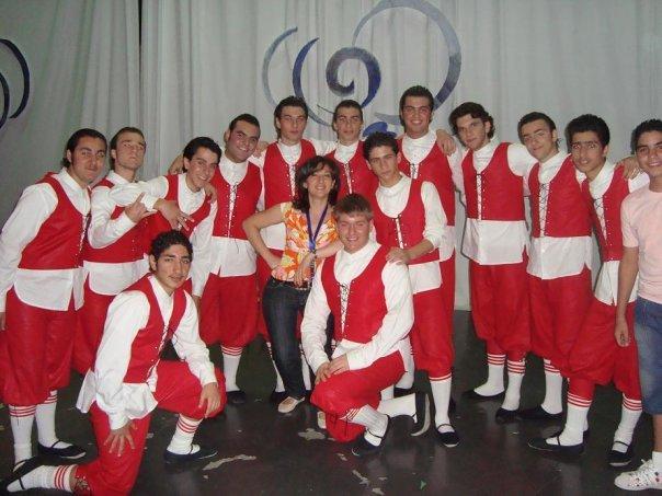 Shakeh dance group in Kuwait
