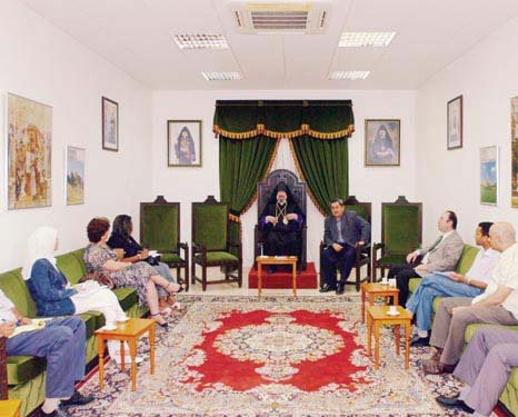PRESS CONFERENCE IN THE ARMENIAN PRELACY OF KUWAIT