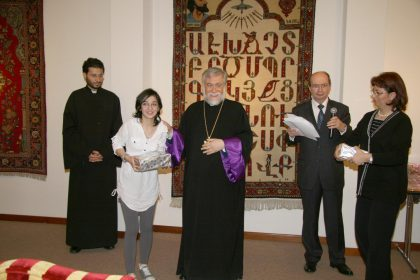 Armenian language competition awards