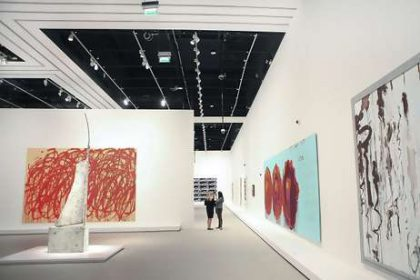 The ultimate collection of Larry Gagosian in Abu Dhabi