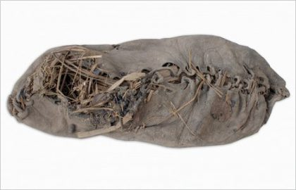 Contents of world's oldest leather shoe may yield clues to ancient agriculture