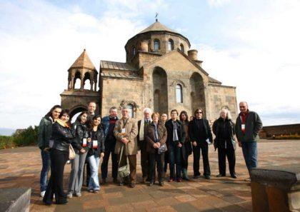 Group of European writers visit Armenia under Literary Ark 2011 program