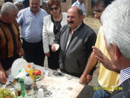 Malak Tawus celebrated by Yezidis in Armenia