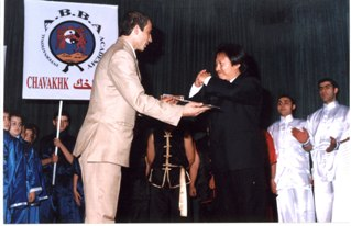 The International Armenian Black Belts Academy's (ABBA) annual ceremony in Aleppo, Syria