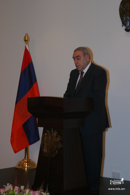 Ambassador Gegham Gharibjanian