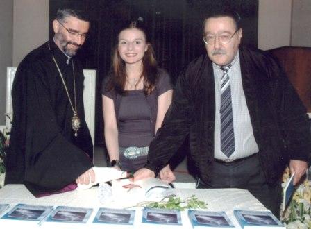Inauguration of the poetry book of Nanor Injejikian