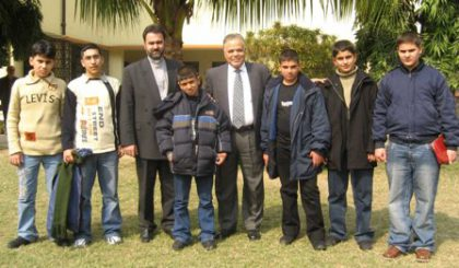 Six Armenian children from Iraq arrive in Calcutta