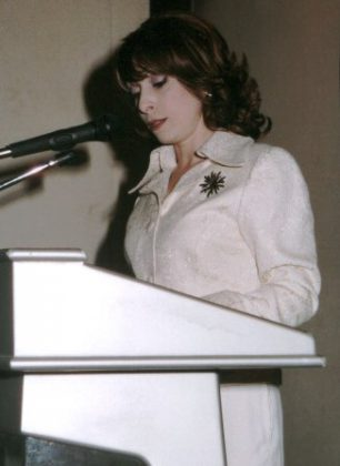 """Dr. Nora Arissian lectures on the """"Armenians in the Syrian Press"""""""