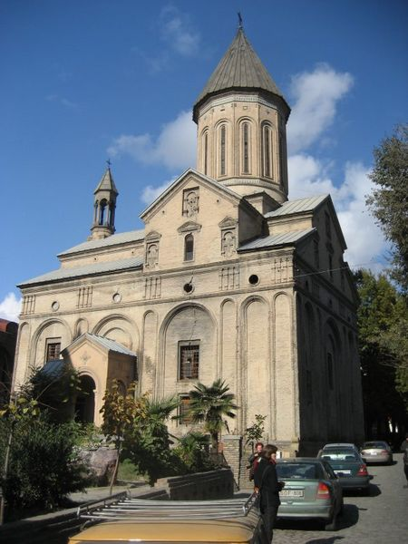 Norashen Armenian Church in Tbilisi, Georgia