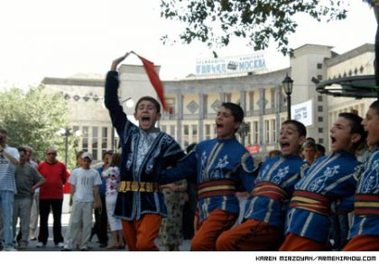 """""""One Nation, One Culture"""" festival in Armenia"""