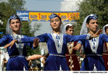 ONE NATION ONE CULTURE CELEBRATIONS IN ARMENIA
