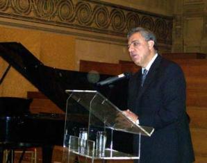 Minister Oskanian speaks on Genocide remembrance in Brussels