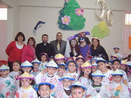 Paregentan in Kuwaiti Armenian Kindergarten