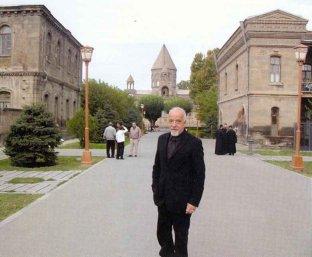 Brazilian Writer Coelho in Armenia