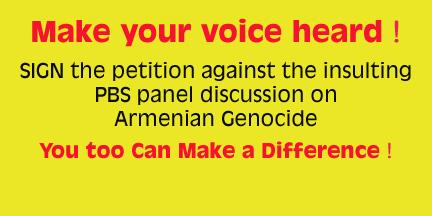 PBS PANEL ON ARMENIAN GENOCIDE