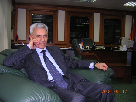 AMBASSADOR POLADIAN'S LAST DAYS IN OFFICE MAY 2006