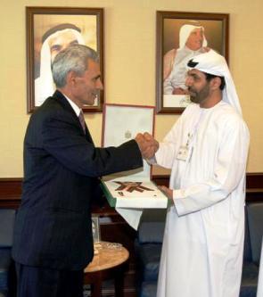 """Ambassador Poladian awarded """"Independence Order"""""""