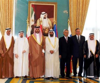 FAREWELL PARTY TO AMBASSADOR POLADIAN IN ABU DHABI