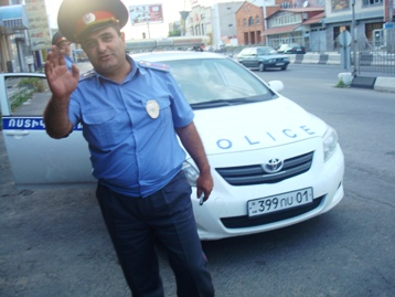 Vehicle insurance is compulsory in Armenia