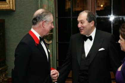 Gala concert and dinner at Buckingham Palace
