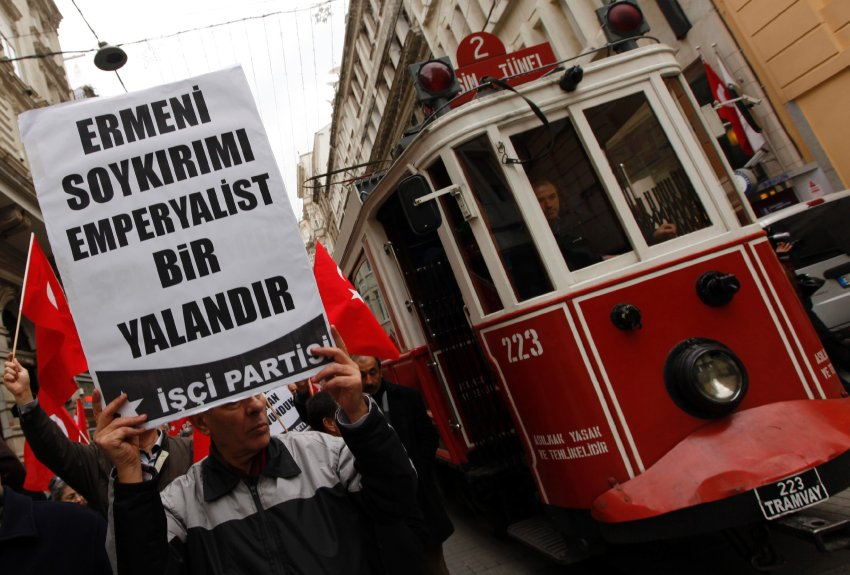 Protestors Against Armenians