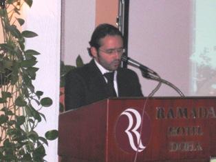 SARKIS KERKEZIAN DELIVERS THE OPENING SPEECH
