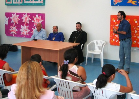 SARKIS KERKEZIAN WELCOMES THE STUDENTS, THE PARENTS AND THE GUESTS