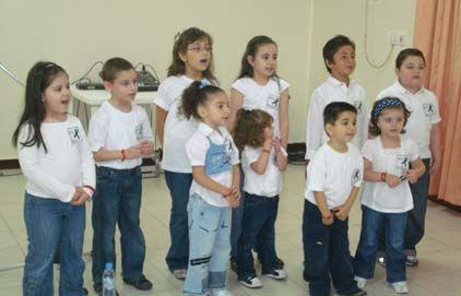 Children of the Armenian on-day School of Doha