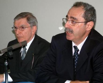 Rev. Dr. Manuel Jinbashian lectures in Cyprus