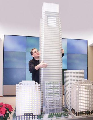 Richard Tenguerian: The man behind the architectural models