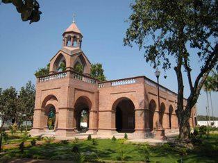 Consecration of Saidabad Saint Mary's Armenian Church