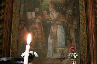 Painting representing Saint Gregory the Illuminator