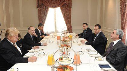 President Serzh Sargsyan meets European Parliament officials
