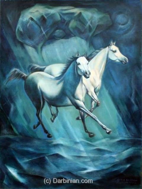 Painting by Serob Darbinian