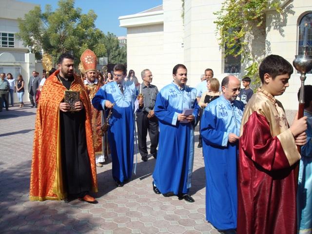 9th anniversary of the Armenian Church in Sharjah