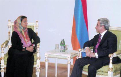 UAE Minister of Foreign Trade Sheikha Lubna Al Qasimi visits Armenia