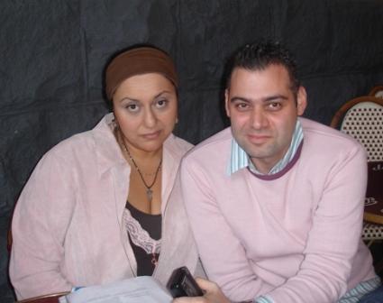 With Carlos Jose Bourdjian
