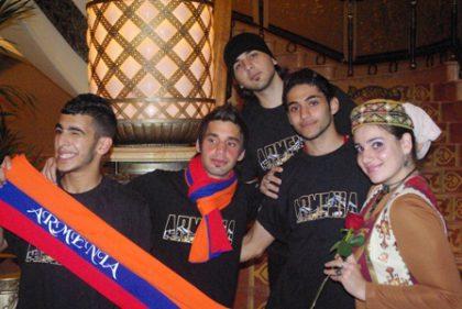Armenian participation at Small World Abu Dhabi 2011