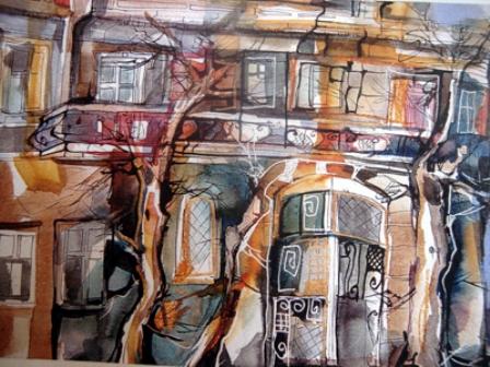 Sona Yeghiazaryan: My street.