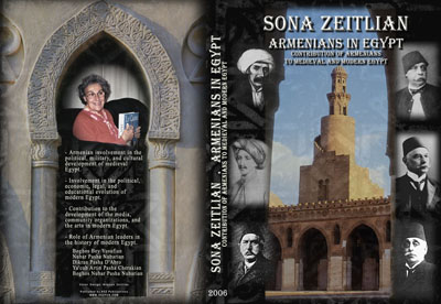 Sona Zeitlian's new book: Armenians in Egypt