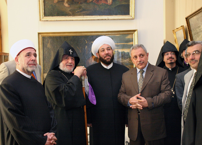 Syria's Mufti visits Etchmiadzin