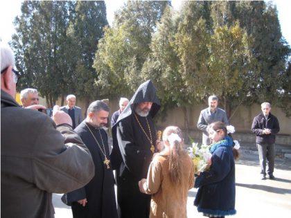 Parochial visit to Rahva, Gyardabad and Urmia in North-West Iran