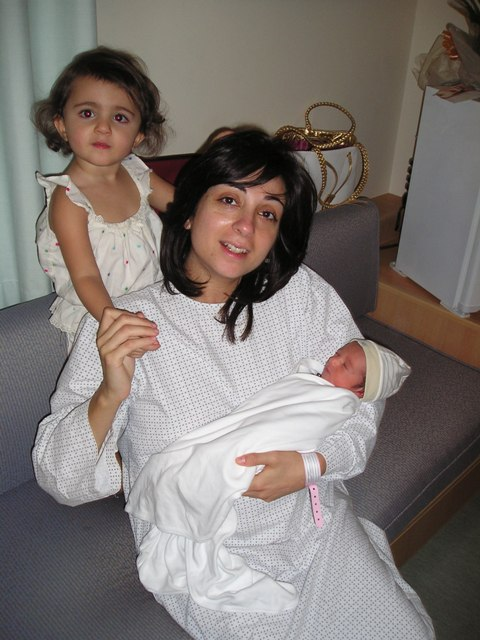 Tanya Goudsouzian with her two children