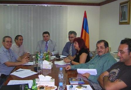 Taste of Armenia team