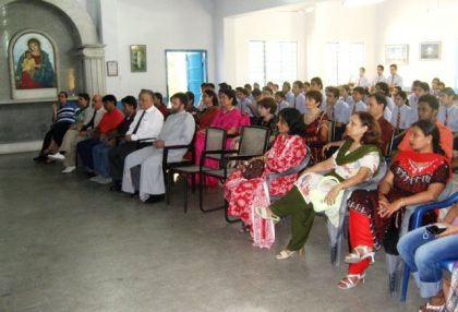 Teacher's Day at the Armenian College and Philanthropic Academy (ACPA) in Kolkata