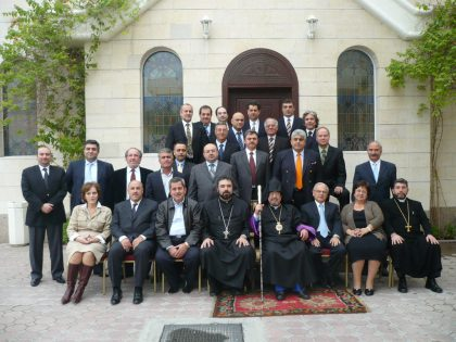 Armenian Legislative Council meets in Sharjah (2013)