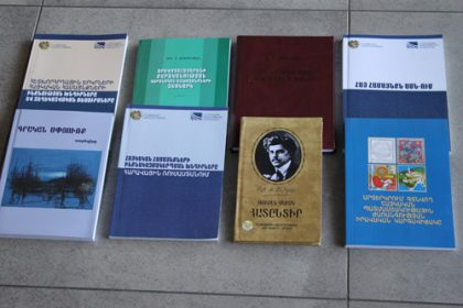 Ten books published by Ministry of Diaspora in 2011