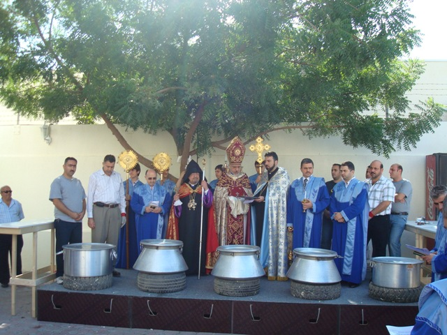 10th anniversary of the Armenian Church in Sharjah