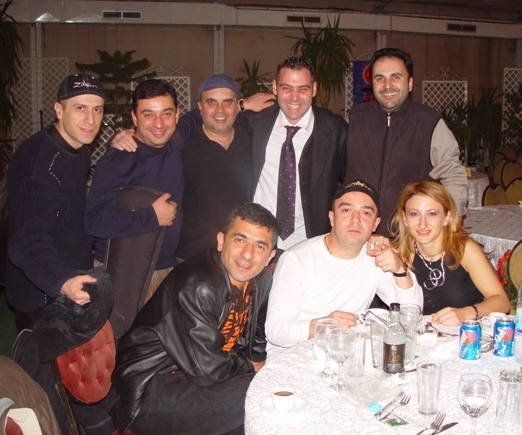 Time Report band with Carlos Bourdjian and Singer Goga